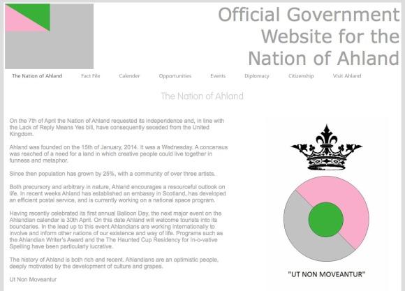 Ahland Website